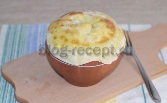 пельмени амур в горшочках с печенью пошагово с фото