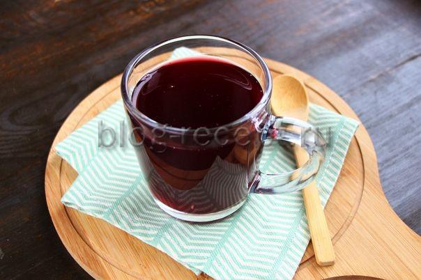 кисель из крахмала и замороженных ягод рецепт