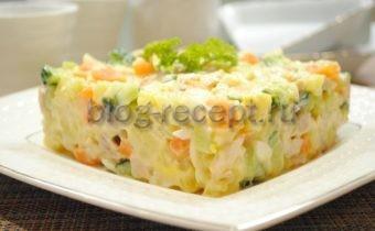 Салат Оливье по-новому – необычный рецепт популярного салата