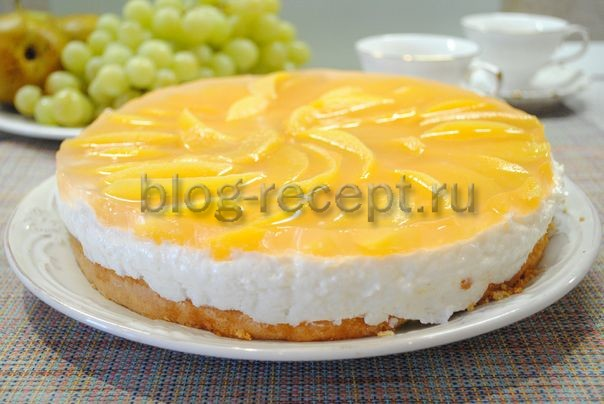 йогуртовый торт рецепт