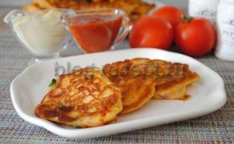 пицца оладьи
