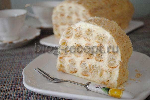 Торт Полено - 6 рецептов из слоеного и бисквитного теста