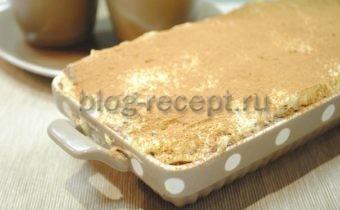 рецепт тирамису со сливками