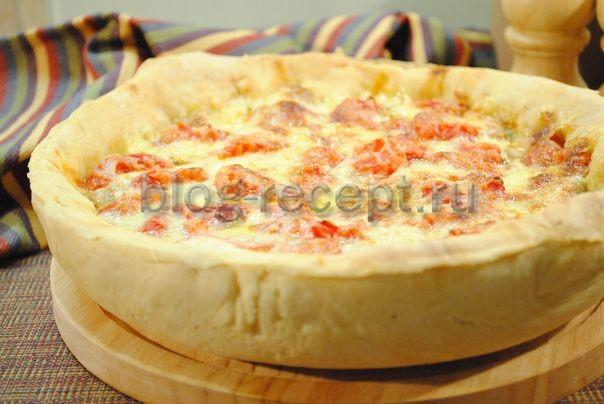 рецепт пицца чикагская