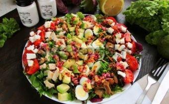 кобб салат