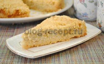 королевская ватрушка с яблоками рецепт с фото