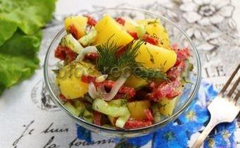 картофельный салат немецкий