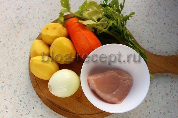 Куриный суп-пюре — 10 пошаговых рецептов приготовления