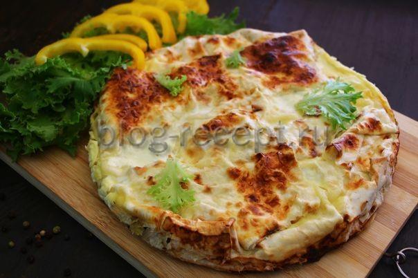 ачма из лаваша с сыром