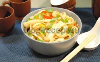 лапша вок рецепт с курицей и овощами