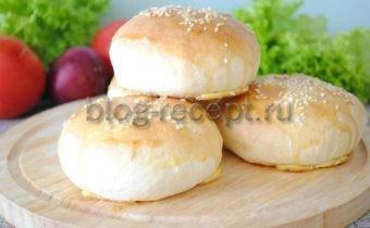 рецепт булочки для бургеров