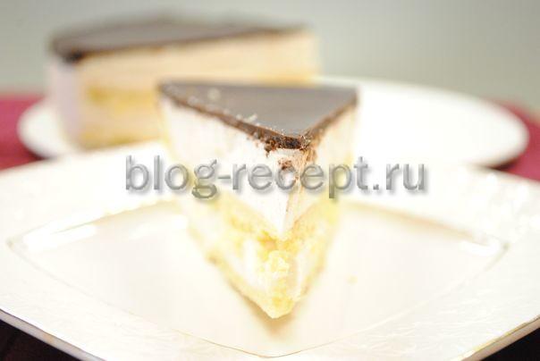 птичье молоко торт по госту