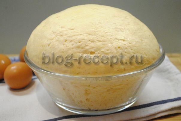 тесто для пирожков дрожжевое на молоке