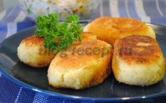 зразы из картофельного пюре