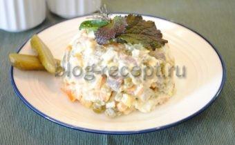 салат столичный классический рецепт с говядиной