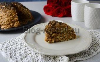 торт муравейник из печенья со сгущенкой без выпечки