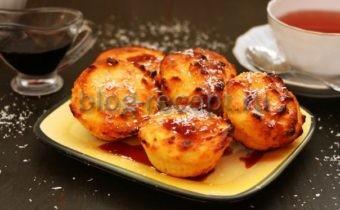 Сырники с манкой в духовке