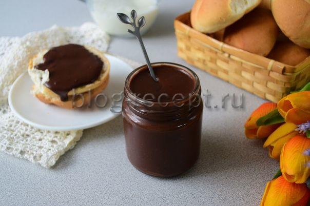 шоколадная паста в домашних условиях рецепт