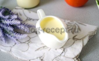 Майонез без яиц в домашних условиях
