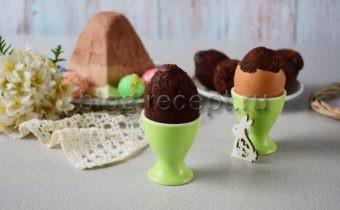 Куличики в скорлупках от яиц