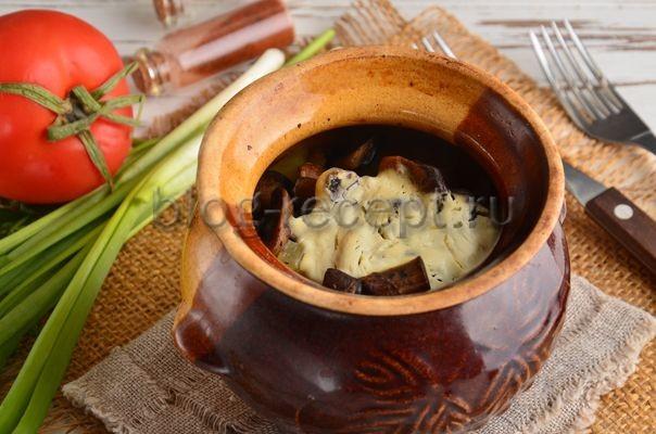 жаркое в горшочках со свининой и картошкой в духовке