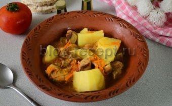 Жаркое традиционное блюдо русской кухни. Но оно, как и многие другие, со временем претерпело изменения. Например, в нем появилась картошка. И сегодня мы, как раз и приготовим такое жаркое - из говядины и с картошкой.