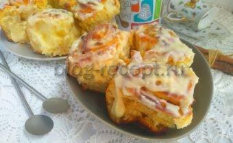синнабон булочки рецепт в домашних условиях