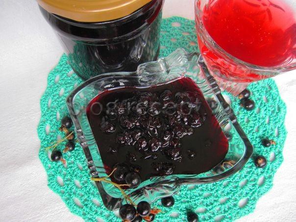 аренье их черной смородины пятиминутка на зиму – простой рецепт