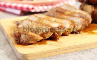 Свинина в соевом соусе на сковороде