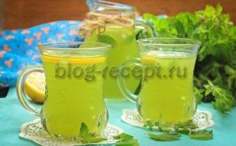лимонад в домашних условиях из лимона и мяты