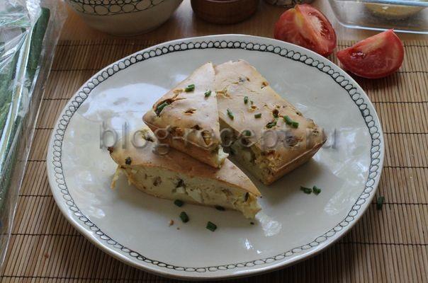 заливной пирог с горбушей
