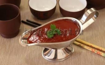 Кисло-сладкий китайский соус рецепт