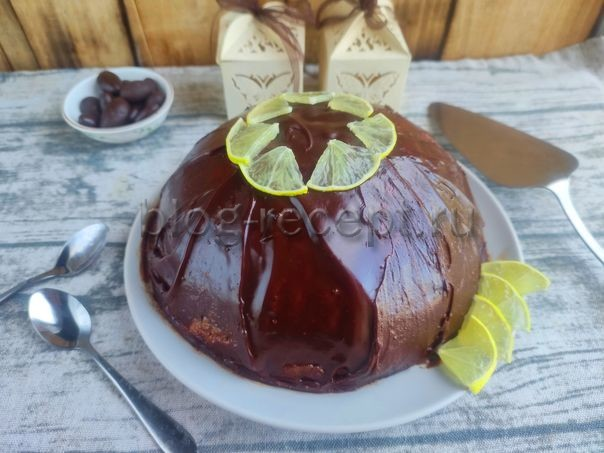 торт из печенья без выпечки со сгущенкой и маслом